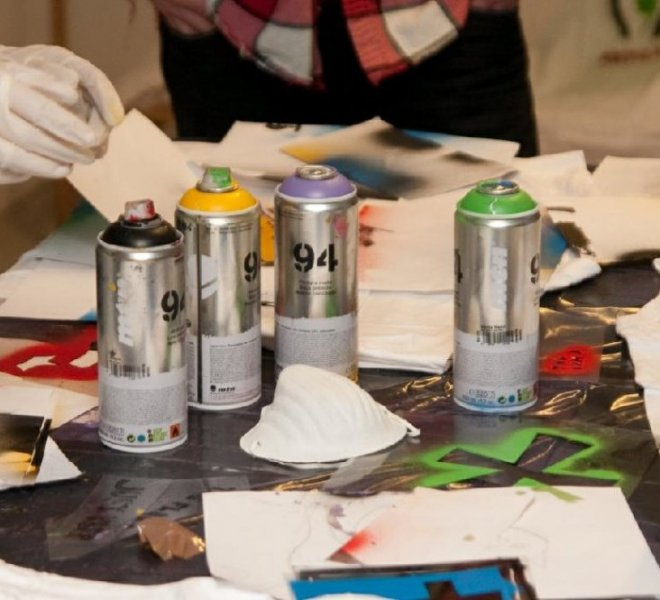Amsterdam Graffiti workshop