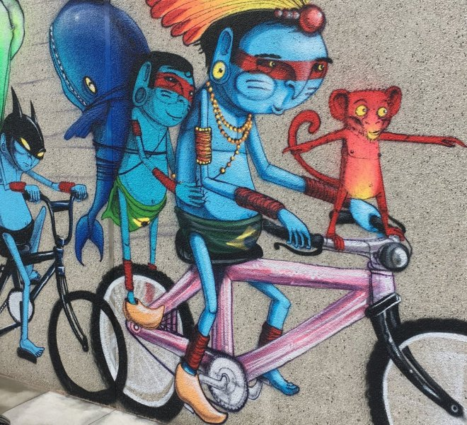 AMSTERDAM STREET ART BIKE TOUR