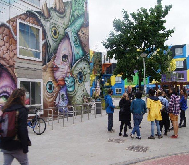 Amsterdam Street art murals tour